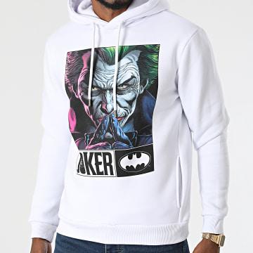 DC Comics - Sweat Capuche Joker Serious Blanc