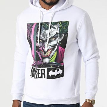 DC Comics - Sweat Capuche Joker Hook Blanc