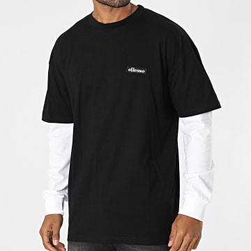 Ellesse - Tee Shirt Manches Longues Doubled SHK12265 Noir