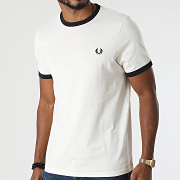 Fred Perry - Tee Shirt Ringer M3519 Beige