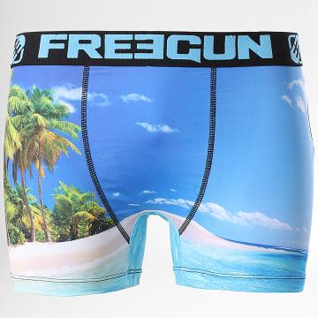 Freegun - Boxer Palms Bleu Ciel