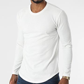 Frilivin - Tee Shirt Manches Longues 15370 Blanc