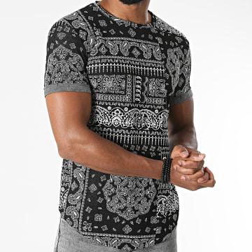 Frilivin - Tee Shirt Oversize 2172 Noir Bandana