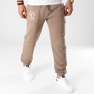 New Era - Pantalon Jogging New York Yankees 12890941 Marron Clair