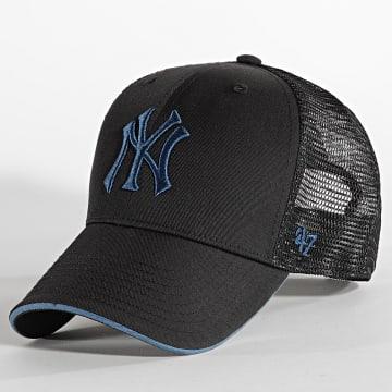'47 Brand - Casquette Trucker MVP Adjustable New York Yankees Noir Bleu