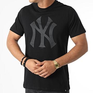 '47 Brand - Tee Shirt New York Yankees Imprint Echo Noir
