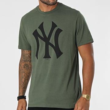 '47 Brand - Tee Shirt New York Yankees Imprint Echo Vert Kaki