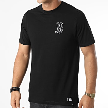 '47 Brand - Tee Shirt Boston Red Sox Embroidery Southside Noir