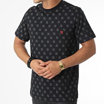 '47 Brand - Tee Shirt New York Yankees Repeat Logo Echo Noir