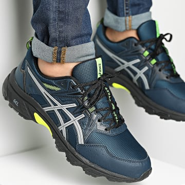 Asics - Baskets Gel Venture 8 AWL 1011B316 French Blue Safety Yellow