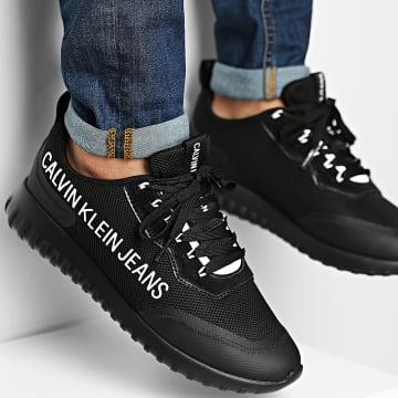 Calvin Klein - Baskets Runner Lace Up 0296 Black