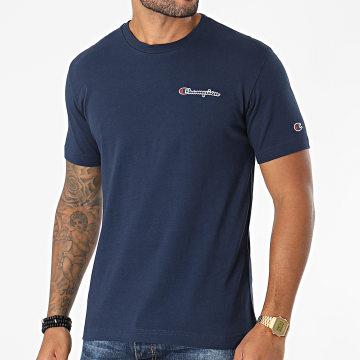 Champion - Tee Shirt 216480 Bleu Marine