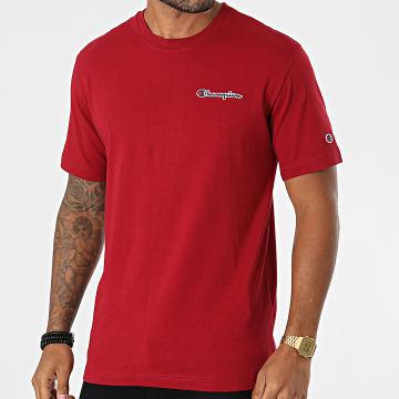 Champion - Tee Shirt 216480 Bordeaux