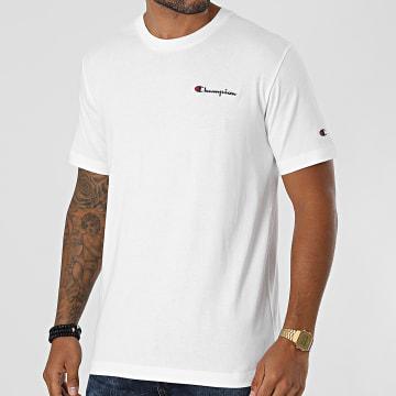 Champion - Tee Shirt 216480 Ecru
