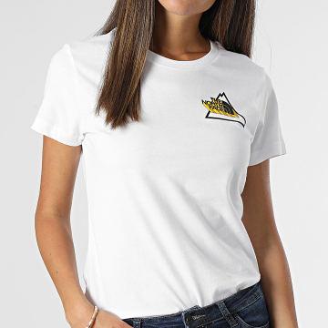 The North Face - Tee Shirt Femme Threeyama Blanc