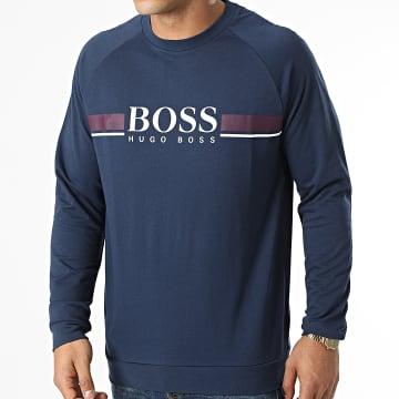BOSS - Sweat Crewneck 50460286 Bleu Marine