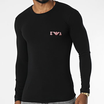 Emporio Armani - Tee Shirt Manches Longues 111023-1A526 Noir