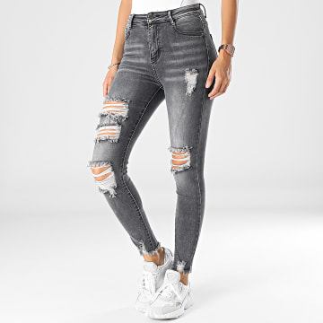 Girls Outfit - Jean Skinny Femme A188 Gris