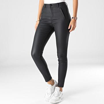 Girls Outfit - Pantalon Skinny Femme C9081 Noir