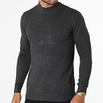 KZR - Pull LD-69009 Gris Anthracite Chiné