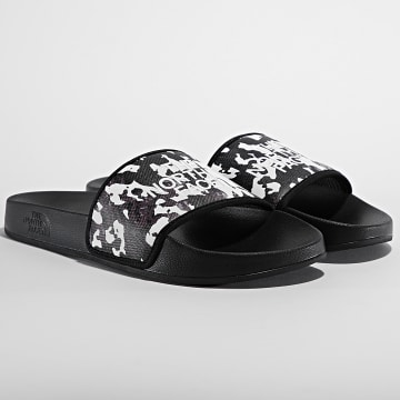 The North Face - Claquettes Base Camp Slide III A4T2R345 Noir Camouflage