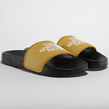 The North Face - Claquettes Base Camp Slide III A4T2RYQR Jaune Moutarde