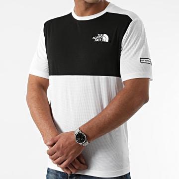 The North Face - Tee Shirt A5IBY Blanc Noir