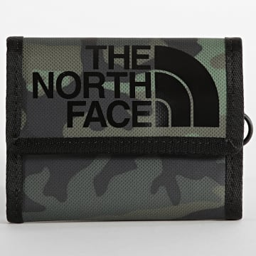 The North Face - Portefeuille Base Camp Camouflage Vert Kaki