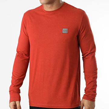 BOSS - Tee Shirt Manches Longues 50462772 Orange