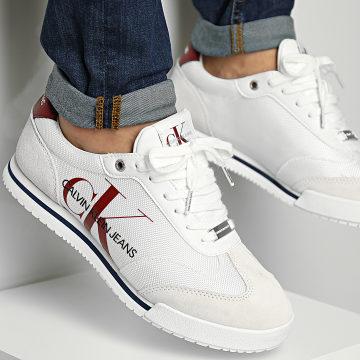 Calvin Klein - Baskets Low Profile Sneaker Laceup 0026 Bright White