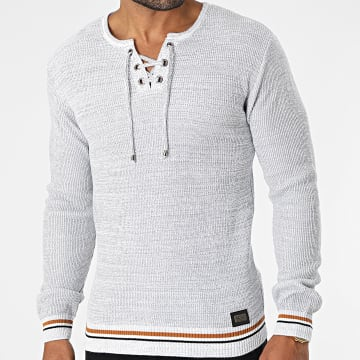Classic Series - Pull 52205 Gris Chiné