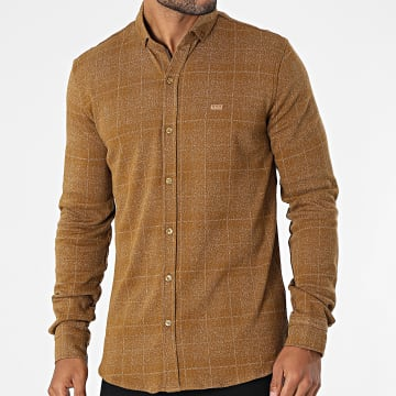 Classic Series - Chemise Manches Longues 21k-2033 Camel