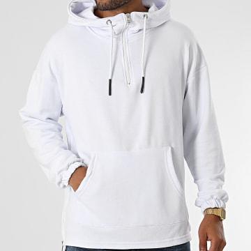 Ikao - Sweat Capuche LL489 Blanc