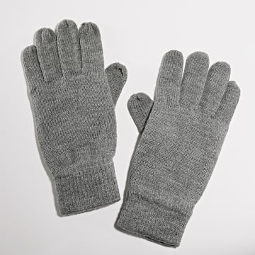 Only And Sons - Gants Classic Gris Chiné