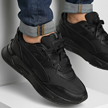 Puma - Baskets Mirage Sport 384389 Black Black