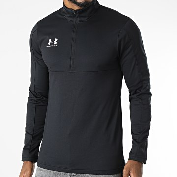 Under Armour - Tee Shirt Manches Longues Challenger Midlayer 1365409 Noir