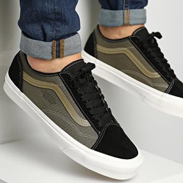 Vans - Baskets Old Skool Tapered 4F49YD World Code Black Green