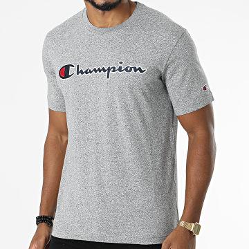 Champion - Tee Shirt 216473 Gris Chiné