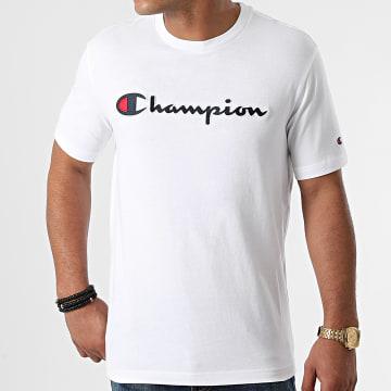 Champion - Tee Shirt 216473 Blanc