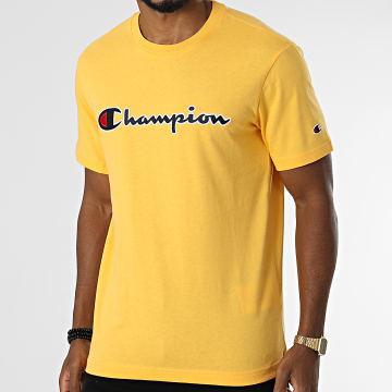 Champion - Tee Shirt 216473 Jaune