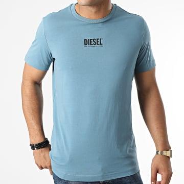 Diesel - Tee Shirt Diegos Ecosmallogo A02878-0AAXJ Bleu Clair