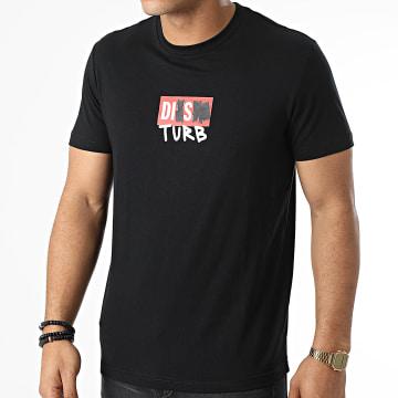 Diesel - Tee Shirt Diegos A03264-0GRAM Noir