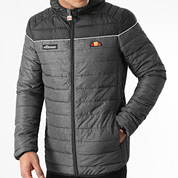 Ellesse - Doudoune Capuche Lombardy 2 Padded Gris Anthracite