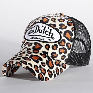 Von Dutch - Casquette Trucker Leopard