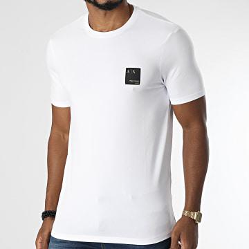 Armani Exchange - Tee Shirt 6KZTHT-ZJE6Z Blanc Doré