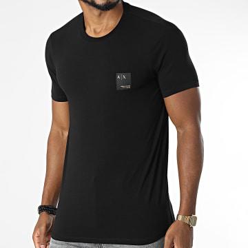Armani Exchange - Tee Shirt 6KZTHT-ZJE6Z Noir Doré