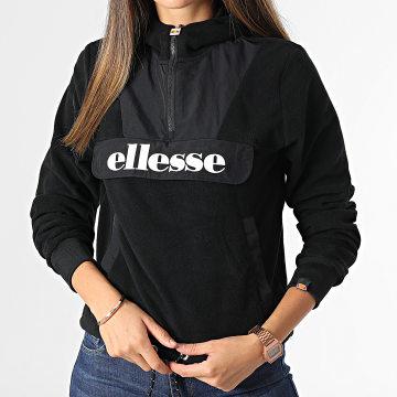 Ellesse - Veste Outdoor Femme Crop Navu Noir