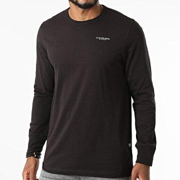 G-Star - Tee Shirt Manches Longues Base D20448-336 Noir