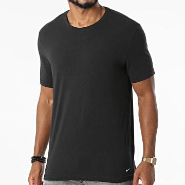 Nike - Lot De 2 Tee Shirts SS Crew Neck KE1010 Noir
