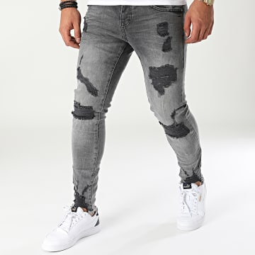 Classic Series - Jean Skinny DHZ-3462 Gris Anthracite